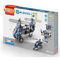 Конструктор Engino серия Pico Builds - Самолеты, 12 моделей