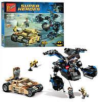 Конструктор Bozhi серия Super Heroes 98044 Бэтмен против Бейна (аналог Lego Super Heroes 76001)