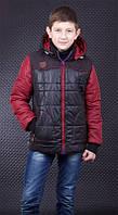 """Демисезонная куртка-жилетка Фил ТМ """"Люксик"""" для мальчика (рост 140, 152)"""