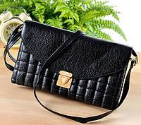 Клатч-сумочка цвет черный