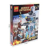 Конструктор Lele 79128 (аналог Лего 76038) Нападение на башню Мстителей, 515 дет