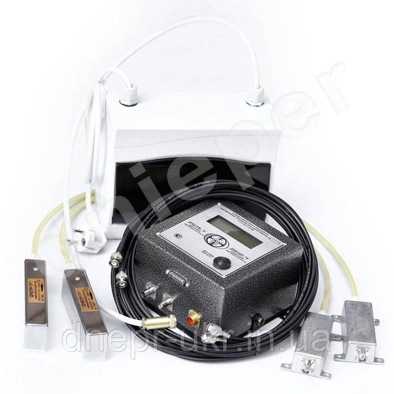 Расходомер-счётчик ДНЕПР 7У многоблочный для гетерогенной (загрязненной) жидкости с накладными датчиками
