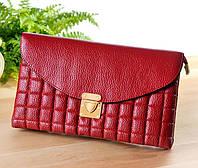 Клатч-сумочка цвет красная