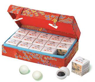 Пилюли «Ху ган», Hu Gan – лечение заболеваний печени, желчного пузыря и желчевыводящих путей 15шт./упак
