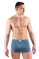 Трусы мужские боксеры брифы Вискоза Cross Man  XL, Серый