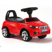Машинка каталка-толокар BMW с музыкальной панелью