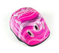 """Защитный шлем для ребенка -""""Розовая волна"""""""
