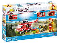 Конструктор COBI серия Action Town - Пожарный вертолет