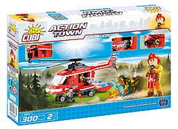 Конструктор Пожарный вертолет COBI серия Action Town (COBI-1473)