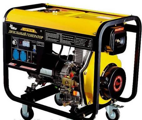 Дизельный Генератор Кентавр ЛДГ 505 ЭК ( 5.0 / 5,5 кВт), фото 2