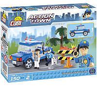 Конструктор COBI серия Action Town - Полицейская машина