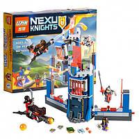 """Конструктор Nexo Knights (Нексо найтс) 14007 """"Библиотека Мерлока"""", 308 дет"""
