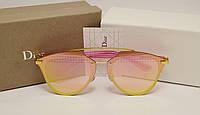 Женские солнцезащитные очки Dior Reflected Lux розовый цвет, фото 1