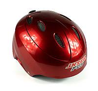 "Защитный шлем -""Inter Fun"" цвет красный, размер М, L"
