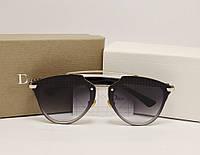 Женские солнцезащитные очки Dior Reflected Lux Серый градиент