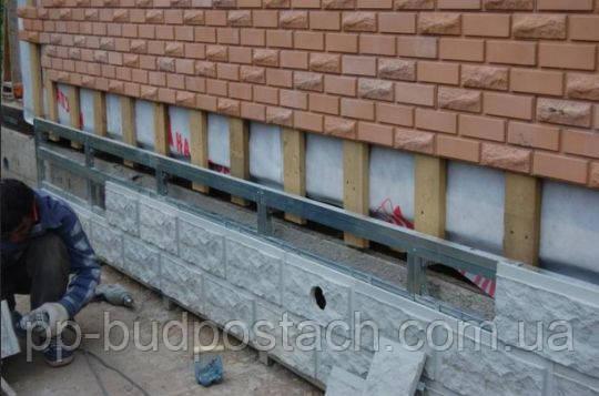 Сухий спосіб кріплення монтажу фасадної плитки