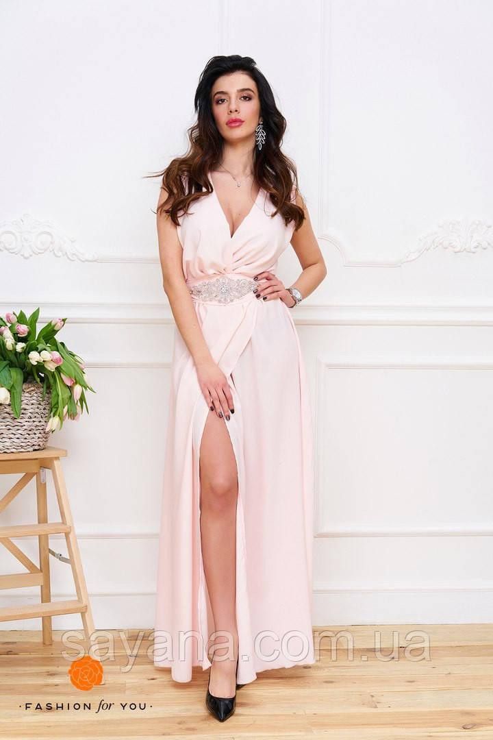 Женское платье в пол. Тс-8-0317
