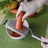 Терка для кухни Finether 331002. Нержавейка, качество!!!, фото 3