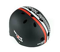 "Защитный шлем -""WIKAR"" цвет черный, размер М, L"