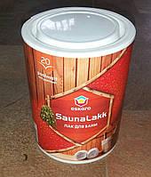 Лак для саун и бань SaunaLakk 2.4 л