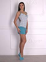 Майка с шортиками для кормления грудью  ХЛ 50 52