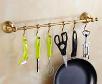 Органайзер настенный кухонный бронза на для принадлежностей, фото 1