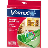 Салфетка из микрофибры Vortex Универсальная двойного действия 1 шт.