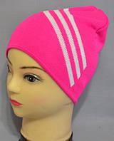 """Вязаные шапки для девочки """"Бибас""""."""