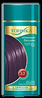 Оттеночный бальзам для волос Тоника с эффектом биоламинирования 3.2 Спелый баклажан 150 мл