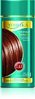 Оттеночный бальзам для волос Тоника с эффектом биоламинирования 7.43 Золотисто-каштановый 150 мл