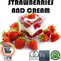Ароматизатор TPA Strawberries and Cream Flavor (Клубника со сливками)