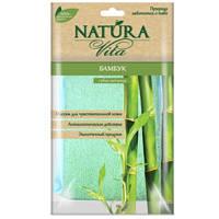 Губка банная Бамбук Natura Vita
