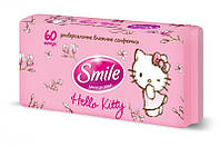 Влажные салфетки Smile Hello Kitty для всей семьи 60 шт.