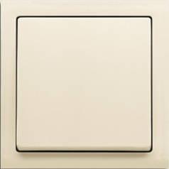 Выключатель одноклавишный проходной + рамка. ABB Future