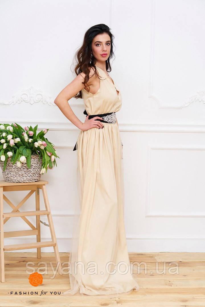 Женское платье в пол. Тс-11-0317
