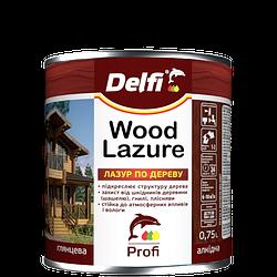 """Лазурь для дерева TM """"Delfi"""" (дуб) 0,75 л"""