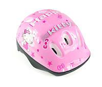 """Защитный шлем для ребенка -""""Heppy kitty"""" - розовый цвет"""