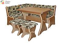 Кухонный уголок Султан с раскладным столом, Пехотин