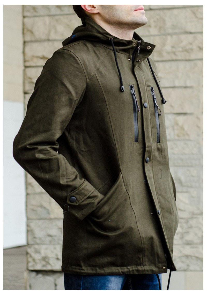 1b7b5352e0e Куртка демисезонная мужская в стиле милитари - Интернет-магазин