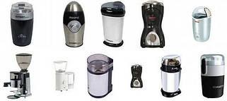 Электрические кофемолки и кофеварки
