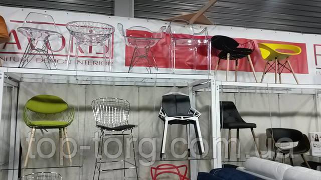 Новинки стульев: акриловые, металлические, прозрачные