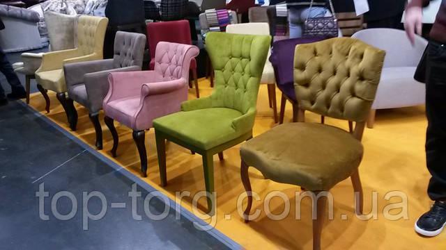 Дизайнерские цветные стулья под заказ. Новинки 2017 на мебельной выставке в Киеве
