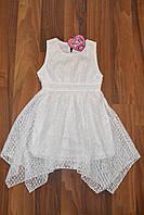 СУПЕР АКЦИЯ!Нарядное гипюровое платье.Размеры 116-140 см,Фирма S&D.Венгрия