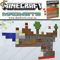 "Магниты Minecraft - ""Magnets Set"" - 160 шт. , фото 1"
