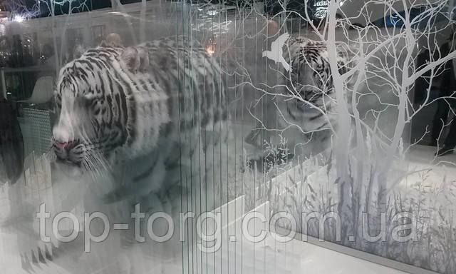 Печать на стекле, 3D эффект