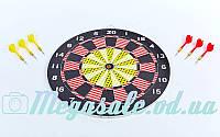 Мишень для игры в дартс Baili 67325: диаметр 43см, 6 дротиков