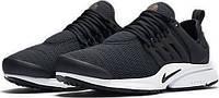 Мужские кроссовки Nike Air Presto QS Black White Реплика, фото 1