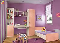 Детский мебельный набор Джери, стенка без кровати, Пехотин