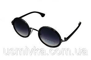Очки солнцезащитные овальные с узкими дужками