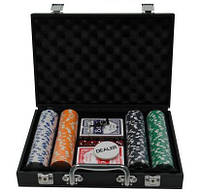 Покерный набор в кейсе на 200 фишек PN62033